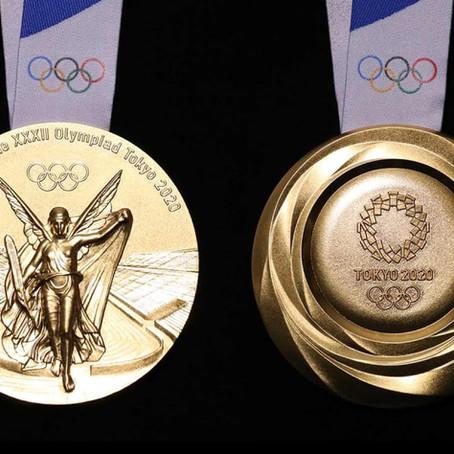 2020 Tokyo'nun Olimpiyat madalyaları tamamen geri dönüştürülmüş elektronik aletlerden üretildi.