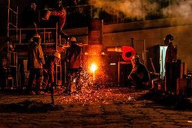 Metal ana sanayi kendi ürünleri için ısıl işlem yapar