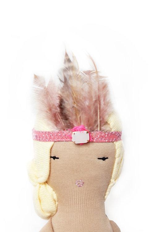 PINK BIRD Headband