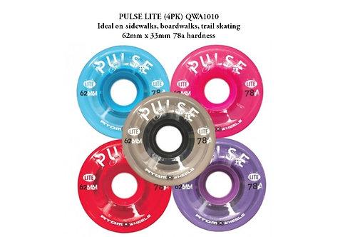 ATOM Pulse Lite Quad Roller Skate Wheel 62x33m 78a ล้อเพาลสไลด์ควอดโรลเลอร์สเก็ต