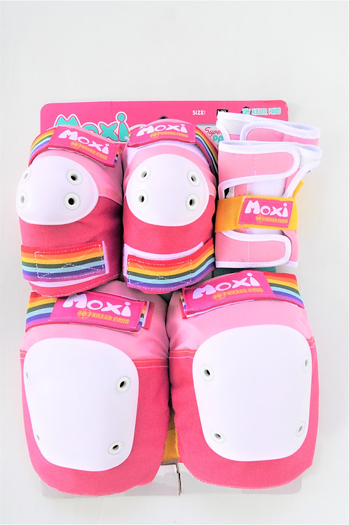 MOXI Skates 187Killer Pad Wrist Elbow Knee Protective Pinkม็อซซี่สเก็ตมือศอกเข่า