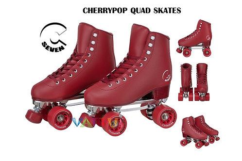 C Seven C7 Cherrypop Red Quad Skate Men Women ซีเซเว่นเชอรี่ป็อปควอดสเก็ตชายหญิง