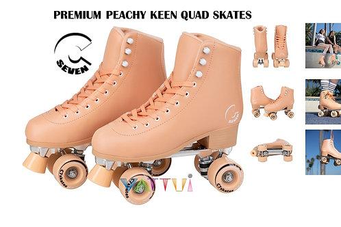 C7 Skates Forget Me Not Premium Peachy Keen Skates ซี7สเก็ตฟอเกตมีน็อตพีชหญิงชาย