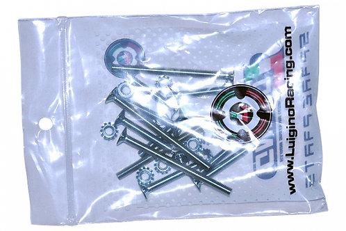 Quad Mounting Hardware Kit for Skate Plate อะไล่ยึดสเก็ตเพลดติดคานสเก็ต