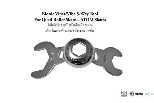 Bionic Viper/Vibe 3-Way Tool ATOM Quad Skate ไบโอนิกไวเปอร์ไวบ์ เครื่องมือ3ทาง