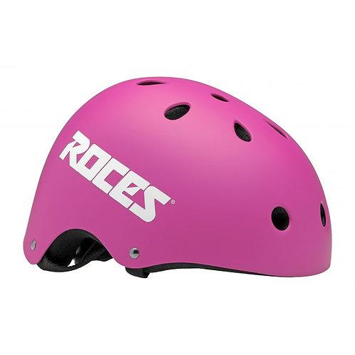 ROCES AGGRESSIVE HELMET CE mat Pink รอยส์อินไลน์หมวกกันน็อตชมพู