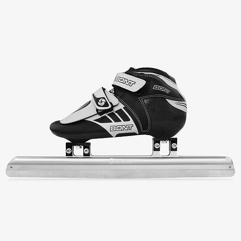 BONT Short Track Z Ice Skates บอนท์ไอซ์สเก็ตช็อตเเทรกซีสีดำขาวชายหญิงเด็กผู้ใหญ่