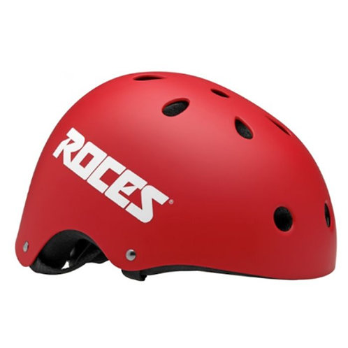 ROCES AGGRESSIVE HELMET CE mat Red รอยส์อินไลน์หมวกกันน็อตเเดง