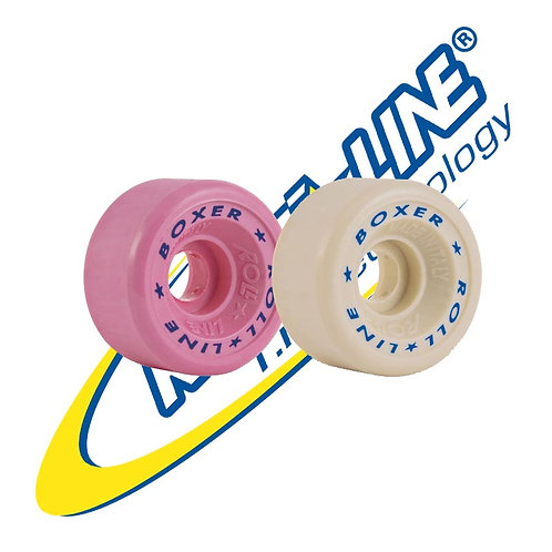 Roll-Line Quad Roller Skate Boxer Wheels  57D 57 x 30mm โรลไลน์ล้อบ็อคเซอร์
