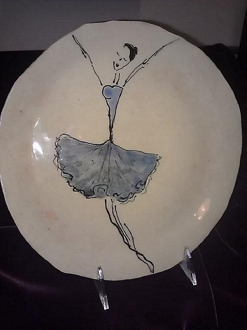 BALLERINA PLATE