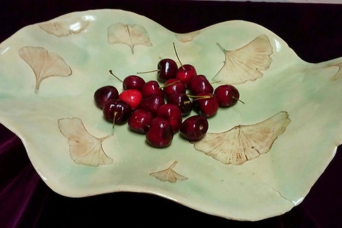 GINGKO LEAF PLATTER