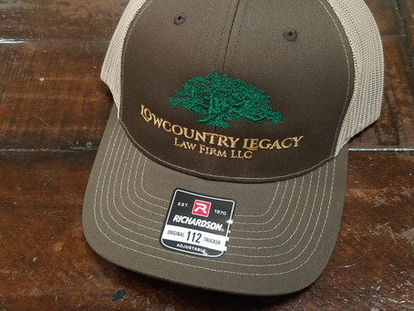 Brand New Lowcountry Legacy Law Hats are in!