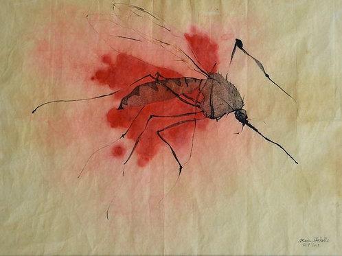 Le moustique écrasé