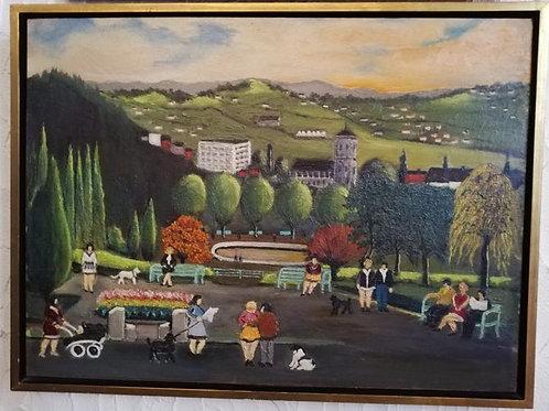 Hauteur de Liège – Pleine de jeux d'enfants