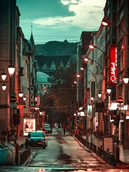 Rue l'Université à Liège