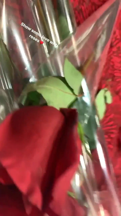 Valentines Day Roses with MED-LIFE