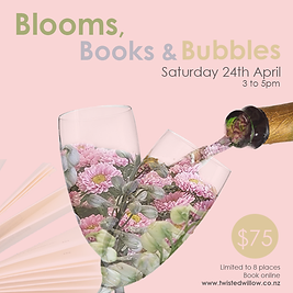 Twisted willow Blooms Books n Bubbles SM