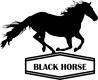 Black horse logo transparent.png