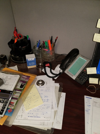 Cluttered Work Space?