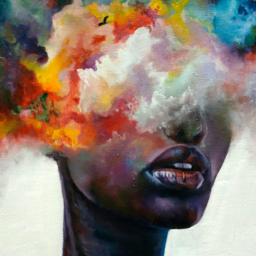 Woman's Colourful Moods
