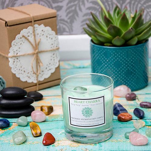 HEART (Green) CHAKRA Aromatherapy Candle