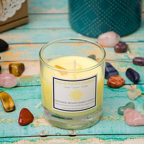 SOLAR PLEXUS (Yellow) CHAKRA Aromatherapy Candle