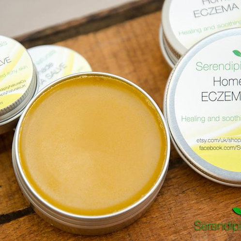 Natural Eczema Salve - Soothe and Repair Cream, Organic Calendula Salve for Derm