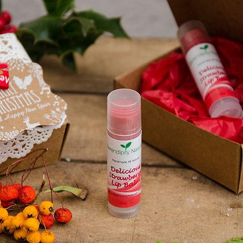 Delicious Strawberry - All Natural Lip Balm