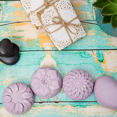 CROWN (Violet) CHAKRA Himalayan Salt Soap Bar