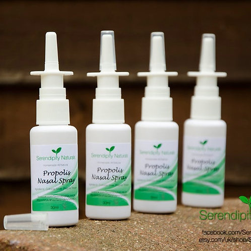 PROPOLIS NASAL SPRAY Homemade with 100% Natural Ingredients for Sinus Relief
