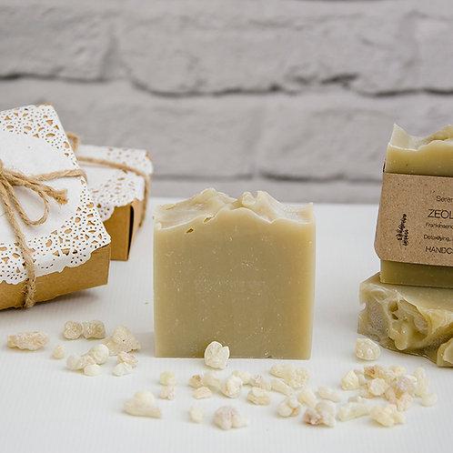 ZEOLITE DETOX All Natural Soap, Exfoliating, Neutralizes Toxins