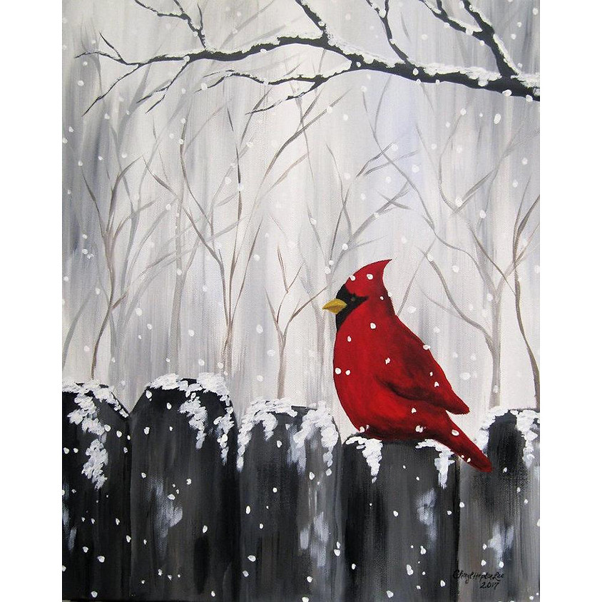 Northern Cardinal (it will be on Fri 13th instead of usual Thurs)