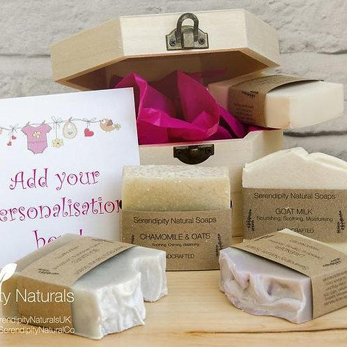 Newborn Baby Girl Personalised Gift Set