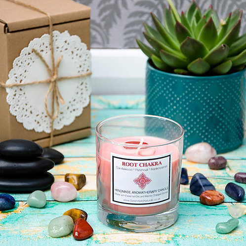 ROOT (Red) CHAKRA Aromatherapy Candle