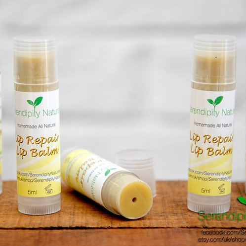 Organic LIP REPAIR BALM - for dry and chapped lips