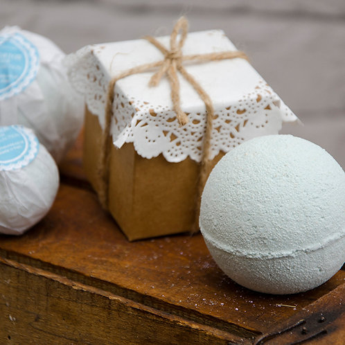 ZEOLITE Bath Bombs Luxury Collection enriched with Organic oils and bu