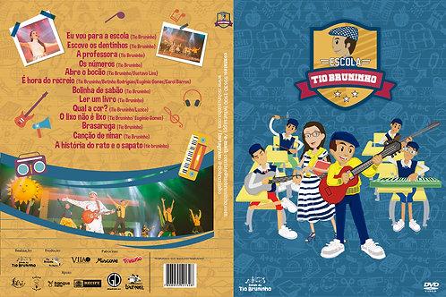 DVD - Escola do Tio Bruninho