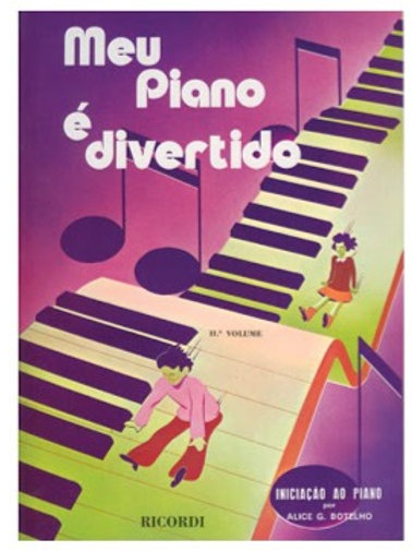 MEU PIANO É DIVERTIDO VOL II ALICE BOTELHO