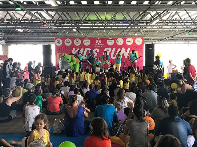 Kids Run foi um sucesso