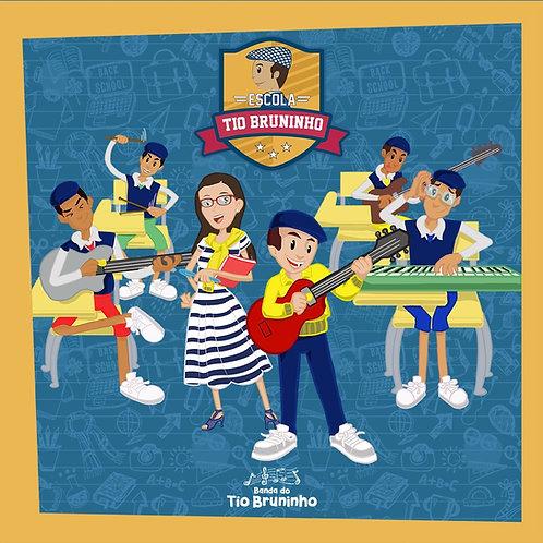 Cd Escola - 12 músicas inéditas