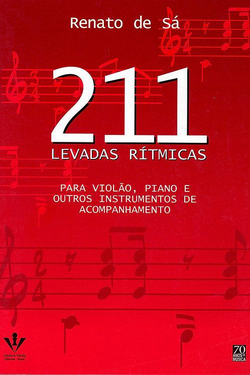 211 Levadas Rítmicas. Para Violão, Piano e Outros Instrumentos de Acompanhamento