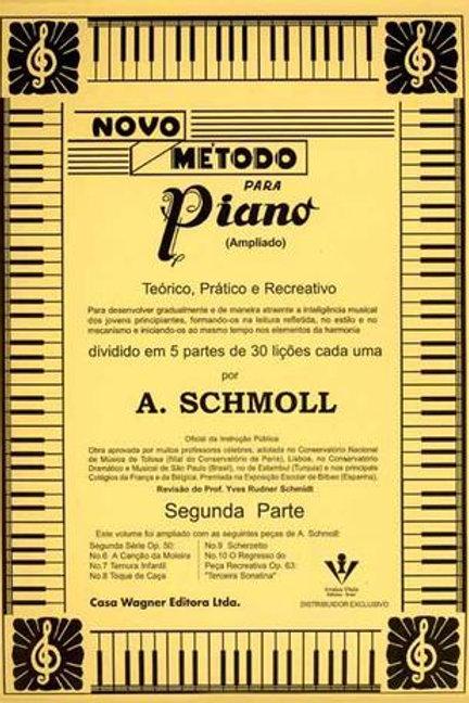 METODO PIANO SCHMOLL SEGUNDA PARTE