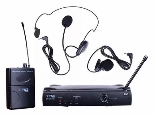 MICROFONE S/FIO TM559HSL HEADSET TAGIMA