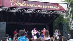 Gostaria de agradecer a Prefeitura de Olinda pelo convite. Que coisa mais linda!! Todos cantando e p