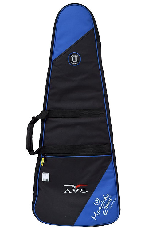 BAG P/ GUITARRA DUPLA TWIN - AZUL ROYAL AVS