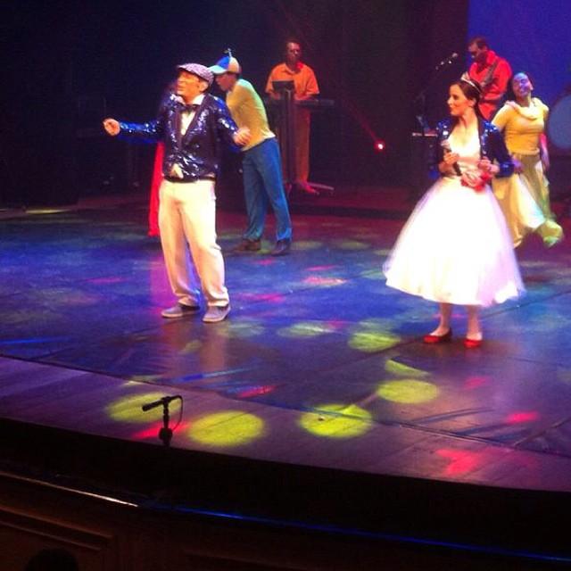 Instagram - Nosso primeiro dia de gravação do DVD no Teatro de Santa Isabel foi