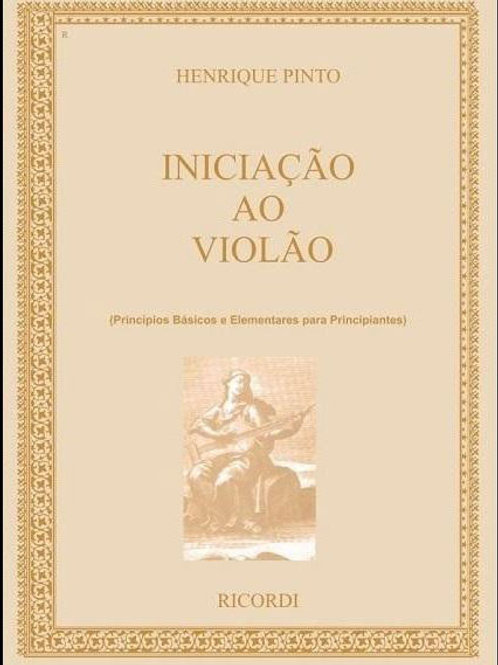 INICIAÇÃO VIOLÃO HENRIQUE PINTO