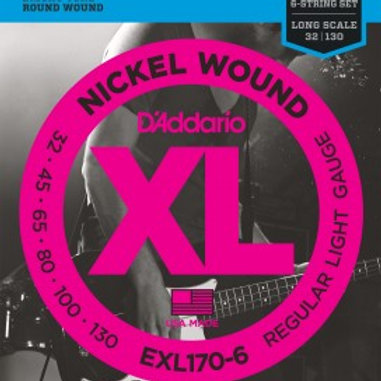 ENC. BAIXO D'ADDARIO EXL170-6