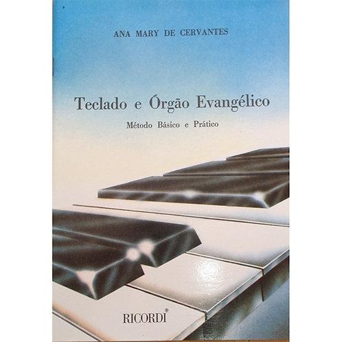 TECLADO ORGAO EVANGELICO RICORDI