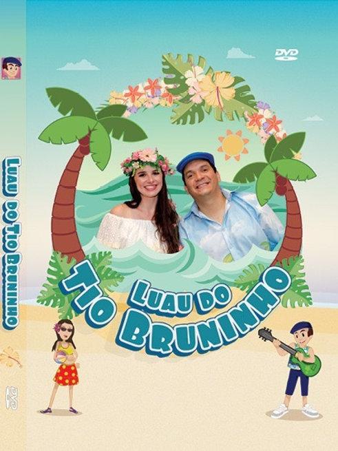 DVD LUAU DO TIO BRUNINHO